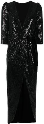 Alchemy Lia sequin-embellished dress
