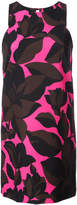 Milly macro floral print dress