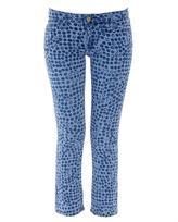 ACNE 'Kick print' slim stretch denim jeans