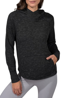 90 Degree By Reflex Brushed Hoodie with Front Pocket