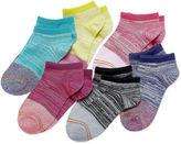 Gold Toe Girls 6 Pair No Show Socks-Big Kid