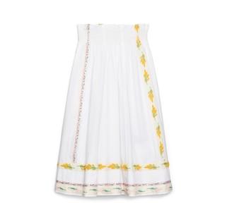 Tory Burch Ribbon Embellished Skirt