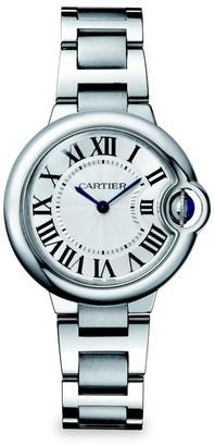 Cartier Ballon Bleu de Stainless Steel Bracelet Watch