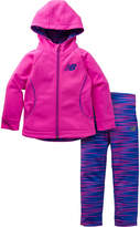 New Balance 2-pc. Logo Pant Set Girls