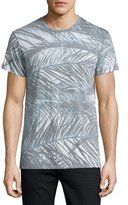 Sol Angeles Sea Palms Graphic T-Shirt, White Pattern