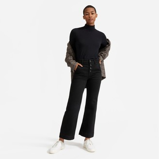 Everlane The Button-Fly Wide Leg Jean