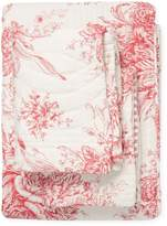 Melange Home Toile Reversible Quilt Set