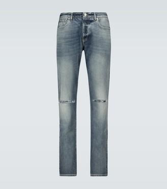 Givenchy Distressed slim-fit denim jeans