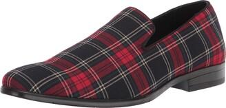 Stacy Adams Men's Steward Plaid Slip-On Loafer