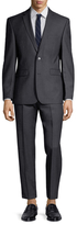 Vince Camuto Wool Solid Notch Lapel Suit