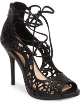 Jessica Simpson Briony Perforated Ghillie Sandal (Women)