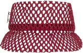 MÃÂ1⁄4hlbauer Headwear Grid Straw Visor