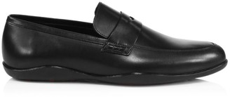 Harry's of London Downing 3D Leather Penny Loafers