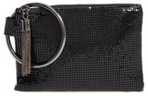 Whiting & Davis Bangle Wristlet - Black