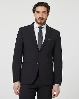 Le Château Tropical Wool Notch Collar Blazer