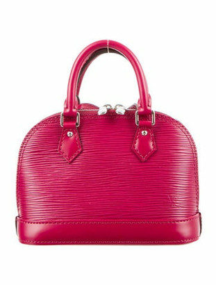 Louis Vuitton Epi Alma BB Fuchsia