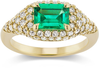 Muzo Emerald Colombia Michelle Fantaci X Muzo Octagon Emerald & Diamond Ring