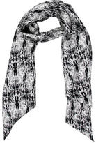 Thomas Wylde Silk Printed Scarf w/ Tags