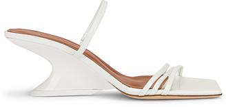 REJINA PYO Romy Sandal in Crinkle White   FWRD