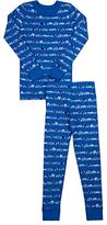 Skylar Luna Car-Print Cotton Sleep Set