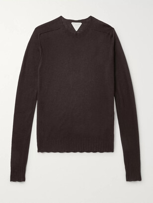 Bottega Veneta Cashmere Sweater - Men - Brown