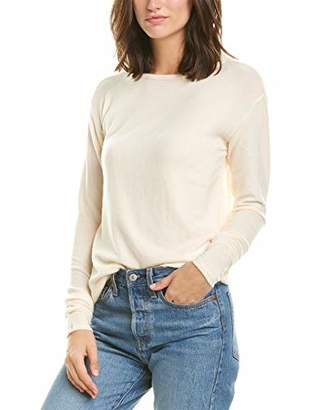 Three Dots Women's Brushed Sweater Longsleeve Crewneck