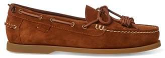 Ralph Lauren Millard Suede Boat Shoe