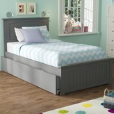 Beachcrest Home Mutchler Twin Platform Bed with Trundle