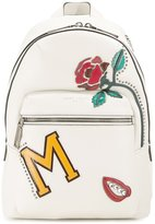 Marc Jacobs MJ Collage Biker backpack - women - Calf Leather - One Size