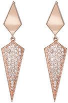 Sara Weinstock Women's Marquise Double-Drop Earrings-PINK