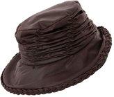 Hawkins Ladies Wide Brim Showerproof Wax Rain Hat