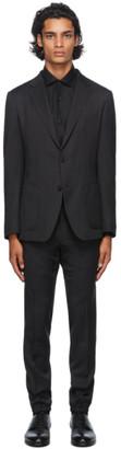 Ermenegildo Zegna Grey Techmerino Wash and Go Suit