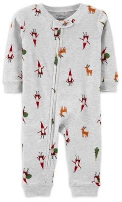Little Planet Organic by Carter's Toddler Girls Long Sleeve Snug Fit Cotton Pajamas, 2pc Set
