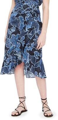 Parker Drew Wrap Skirt