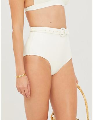 Peony Swimwear Petunia stretch-recycled polyamide bikini bottoms