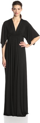 Rachel Pally Women's Flutter Sleeve Long Caftan Dress