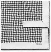 Tom Ford - Houndstooth Silk Pocket Square