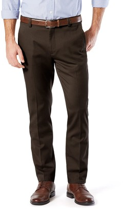 Dockers Men's Easy Khaki Slim Stretch Flat-Front Pants