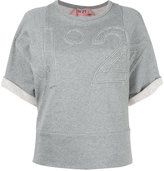 No.21 embossed logo shortsleeved sweatshirt