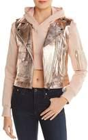 Doma Hoody & Detachable Metallic Vest