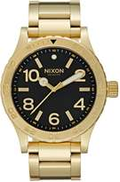 Nixon The 46 Watch Goldcoloured/black