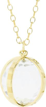 Monica Rich Kosann Carpe Diem Rock Crystal Necklace