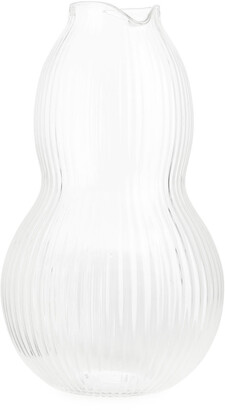 Arket Ridged Glass Carafe 22 cm