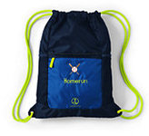 Classic Packable Cinch Sack-Majestic Navy