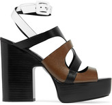 Pierre Hardy Fletwood leather platform sandals