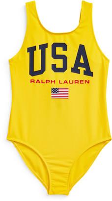 Ralph Lauren USA One-Piece Swimsuit
