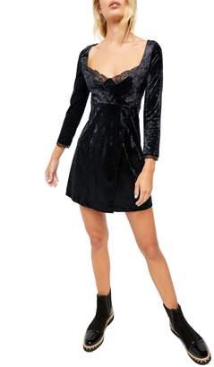 Free People Kat Velvet Bodycon Dress