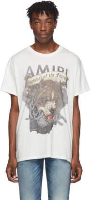 Amiri White Pitbull T-Shirt