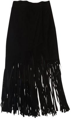 Tamara Mellon Black Suede Skirt for Women