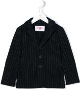 Il Gufo pinstriped blazer - kids - Cotton/Polyamide/Polyester/Wool - 4 yrs